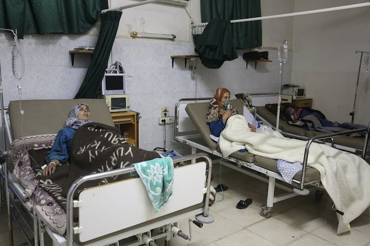 At least 168 attacks on medical facilities are thought to have been carried out in Syria in the second half of 2016. Badi Khlif/Reuters