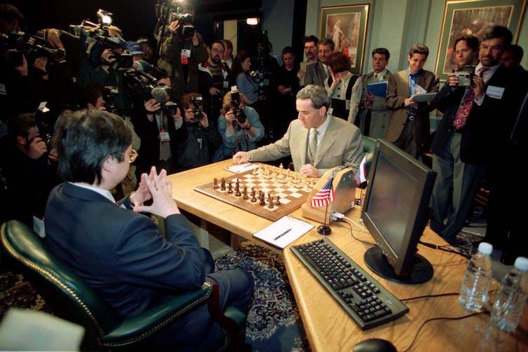 Twenty years on from Deep Blue vs Kasparov: how a chess match