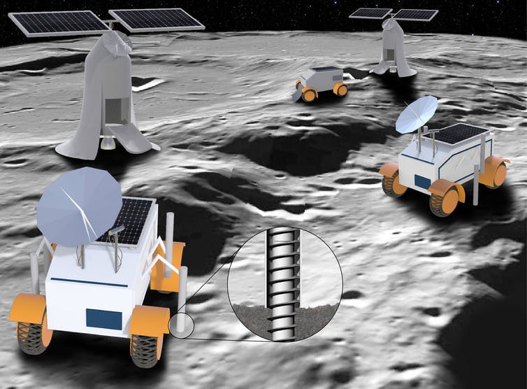 College Media Network Mining the Moon For Rocket Fuel to Get Us to Mars