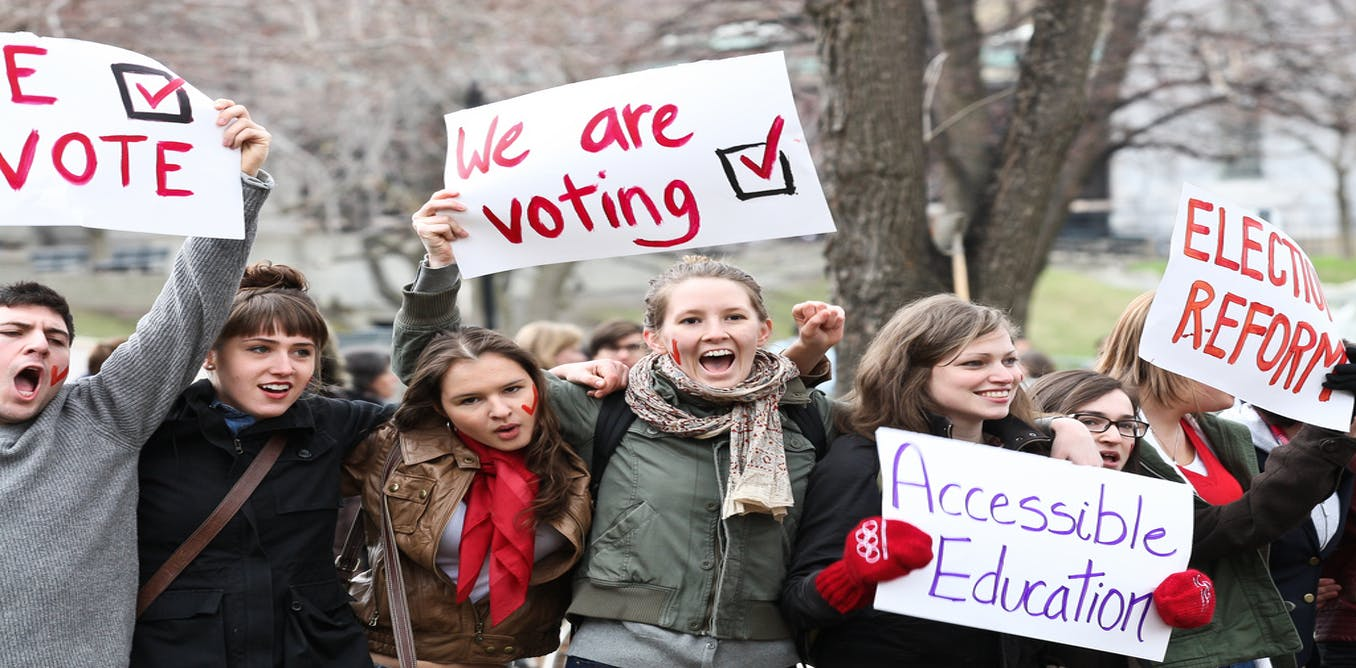 age of innocence or experience  extending the vote to