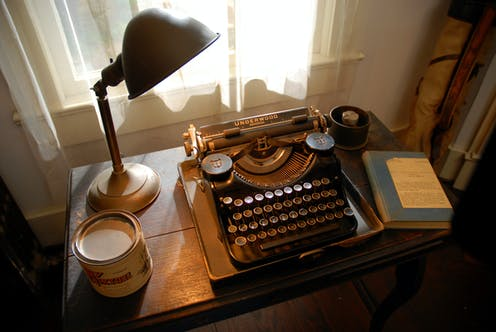 famous writers offices