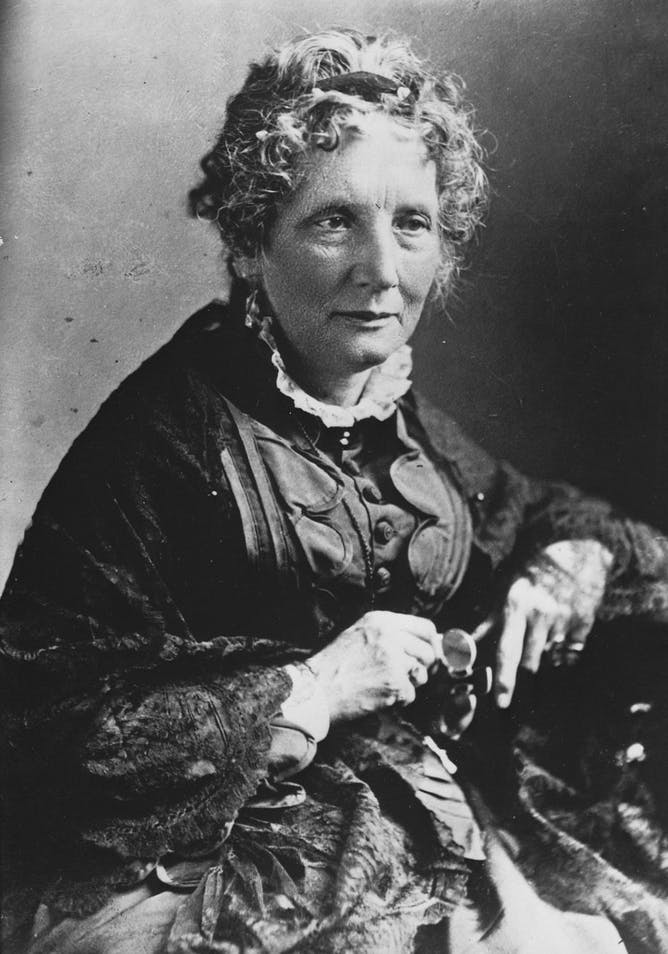 Harriet Beecher Stowe's work as a journalist allowed her to write, and support her entire family