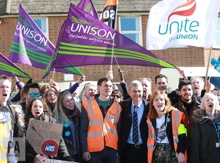 UK Labour's main union backer can't see party winning election