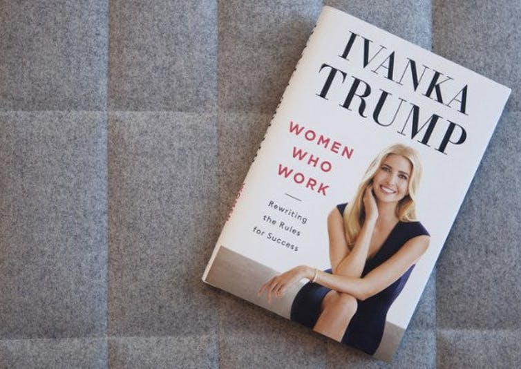 Someone Is Rearranging Ivanka Trump's Barnes and Noble Book Display