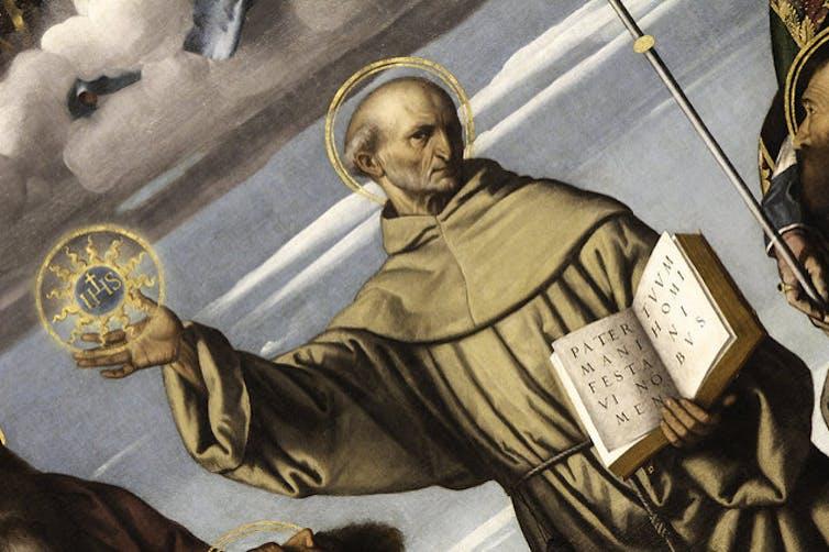 St. Bernardino of Siena.