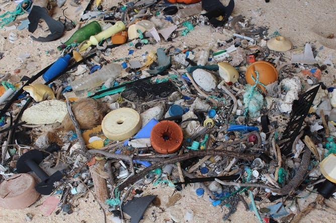 The Remote Pacific Island Awash With Our Plastic Trash