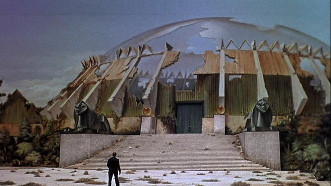 The Time Machine's Bleak View Of Humanity's Future (seen Here In The 1960  Film Adaptation) Is A Chilling One George Pal Productions