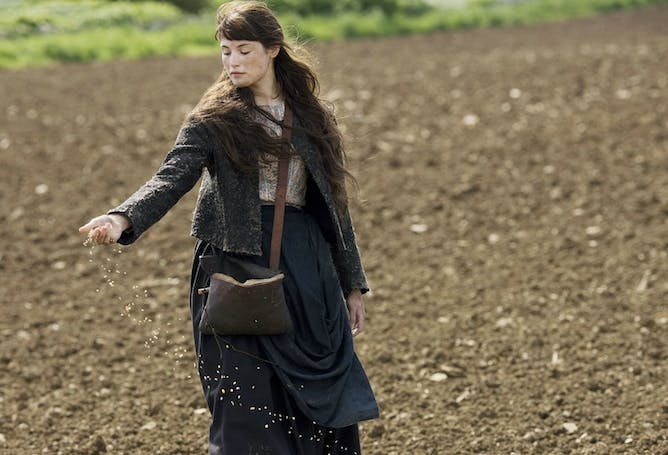 Gemma Arterton As Tess In The 2008 Mini Series Adaptation Stuck On A Farm,  Tess Seesk To Make Ethical Choices Despite Overwhelming Constraints In  Hardy's