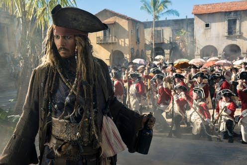 Pirates of the Caribbean 5: there be some good science in
