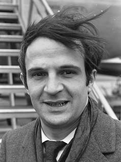 A 1967 photograph of French film director François Truffaut