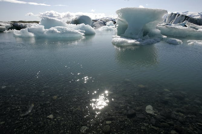 The Melting Icebergs Of Breidamerkurjokull's Vatnajokull Glacier In  Iceland: Is There A Role For The Realist Novel In An Era Of Climate Change?