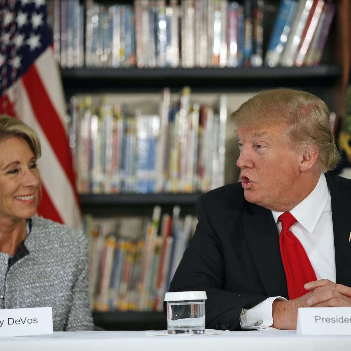 Trump Budget Would Abandon Public >> Trump Budget Would Abandon Public Education For Private Choice