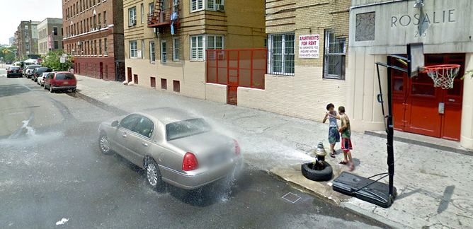 a scene in the bronx curated from google street view nick lehrthe conversation via google