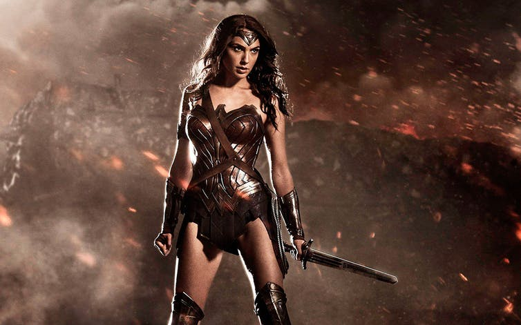 Wonder Woman embodies the male fantasy of warrior women. Photo: Variety.com