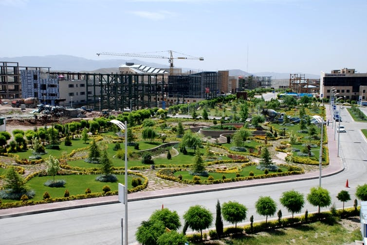 Pardis Technology Park, the self-proclaimed 'Silicon Valley' of Iran. Credit: Rmzadeh/Wikimedia, CC BY-ND
