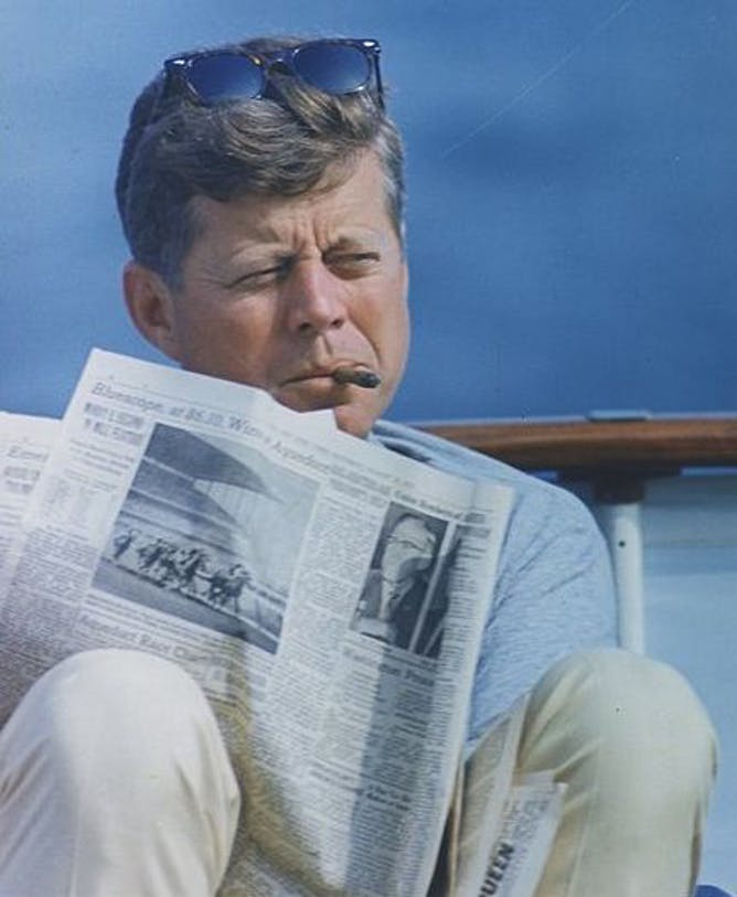 May 29 would have been John F. Kennedy's 100th birthday