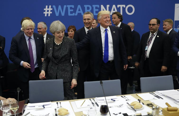 World leaders met in Brussels for the NATO Summit 2017