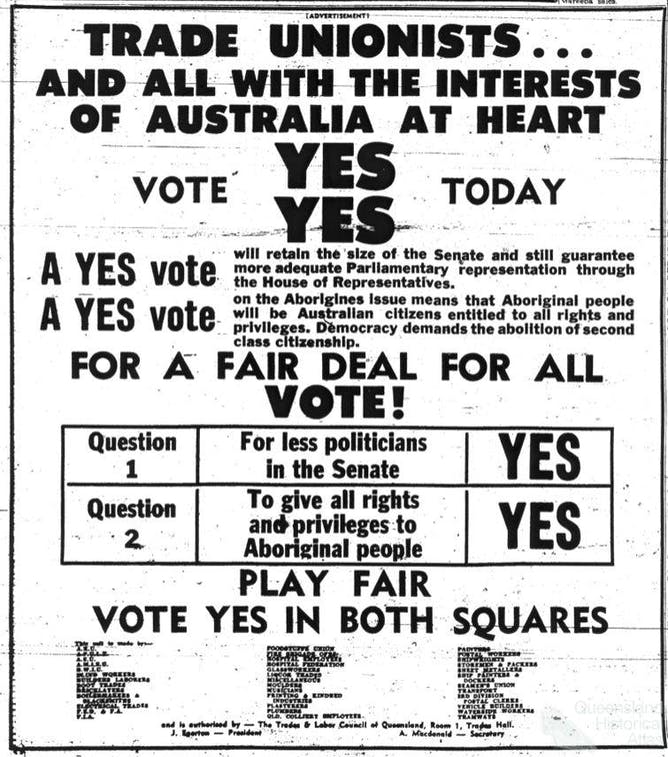 Fifty Years On From The 1967 Referendum Its Time To Tell The Truth