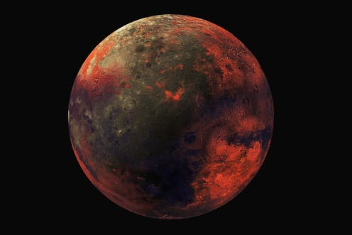 venus has very few volcanoes weirdly this might be why it s as