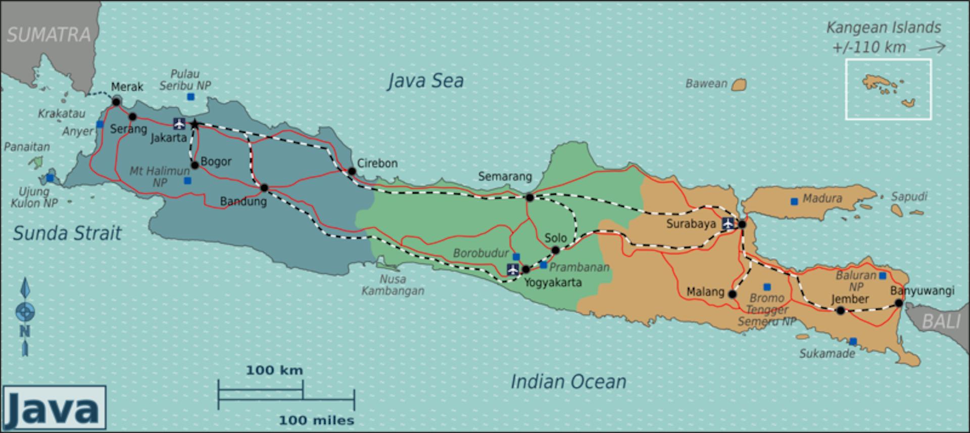 Menghitung Badak Jawa Tak Mudah Tapi Langkah Pertama Peta Pulau