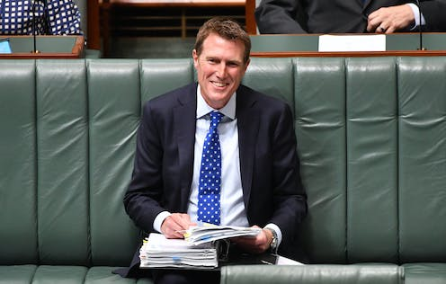 FactCheck: was Christian Porter right about welfare spending and income tax?