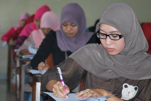 Indonesian Muslim women engage with feminism