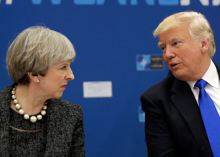 President Trump calls United Kingdom  election results 'surprising'