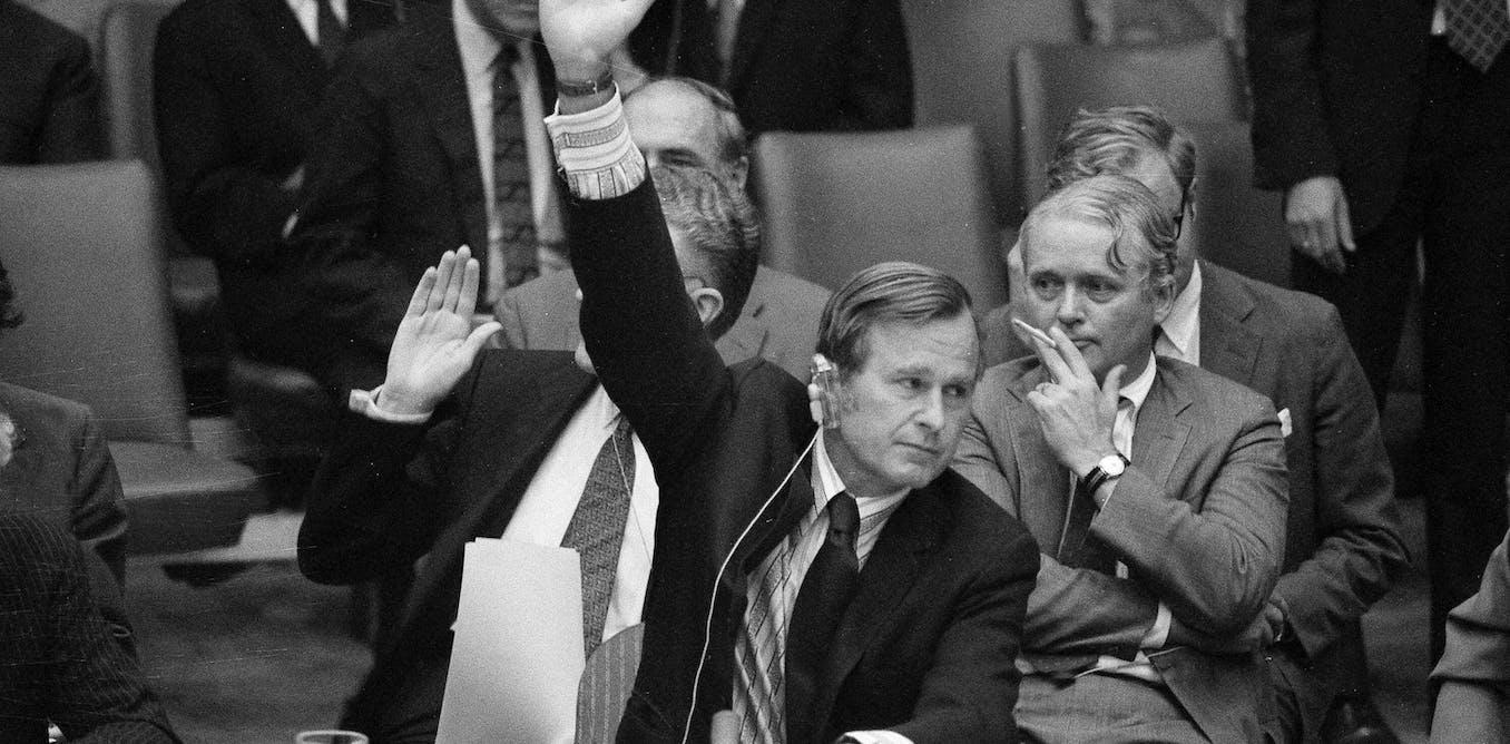 Bush Iraq Policy Summarized By Donald >> George H W Bush America S Last Foreign Policy President