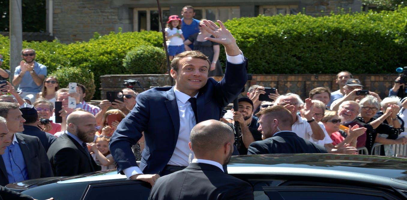 President Macron m