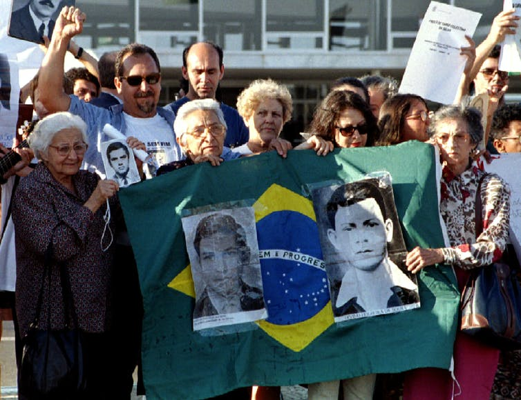 Ten years after Brazil's 1964-1985 military dictatorship, 136 people were still classified as 'missing'. Sergio Moraes/Reuters