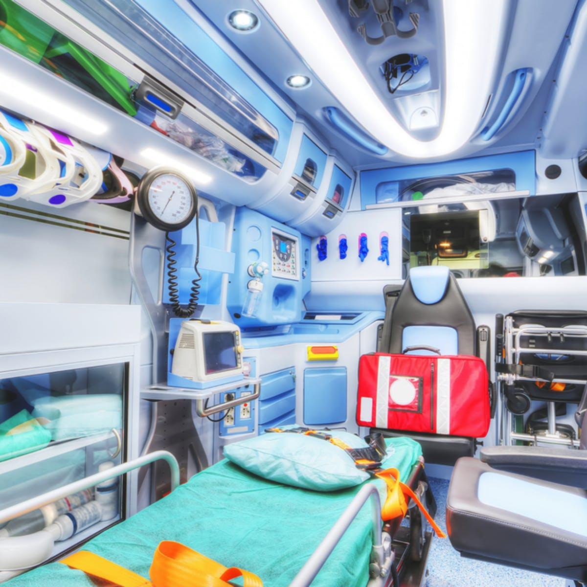 In the future your ambulance could be driverless