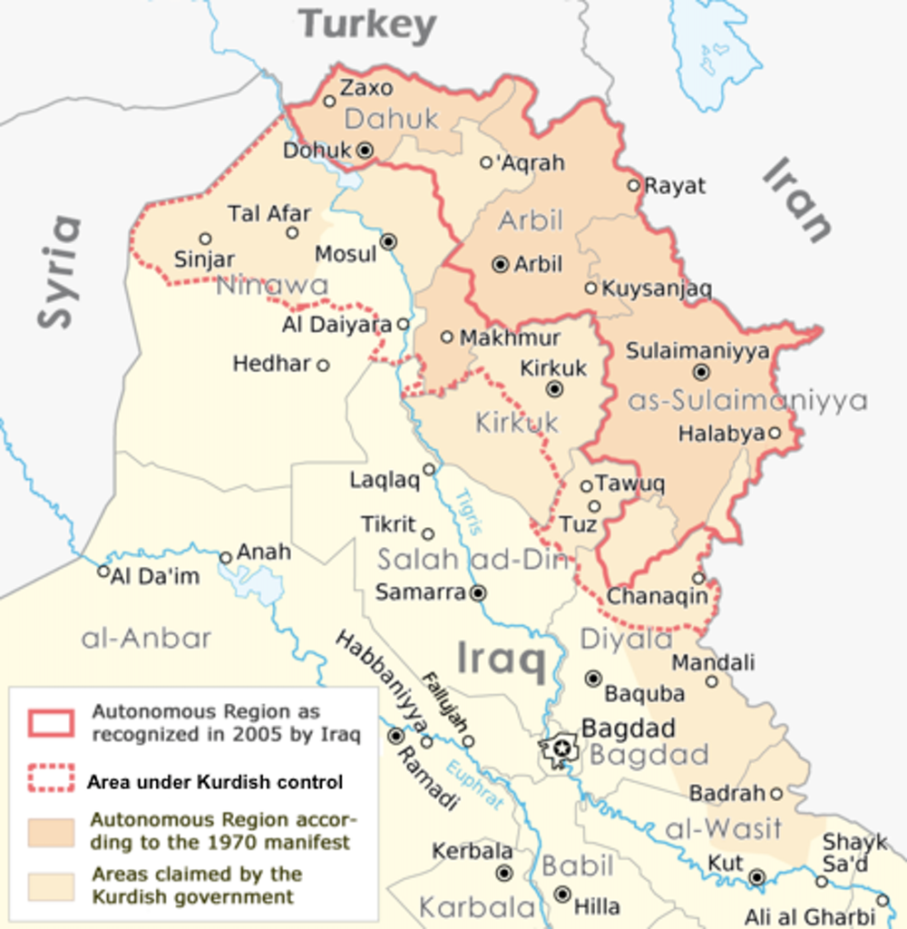 Kurdistan's referendum won't lead to independence – so why hold it?
