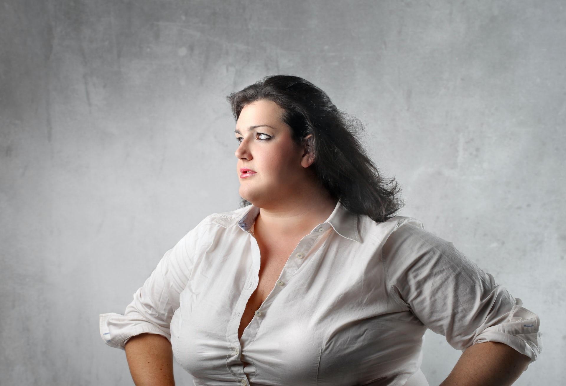 Semior chubby women