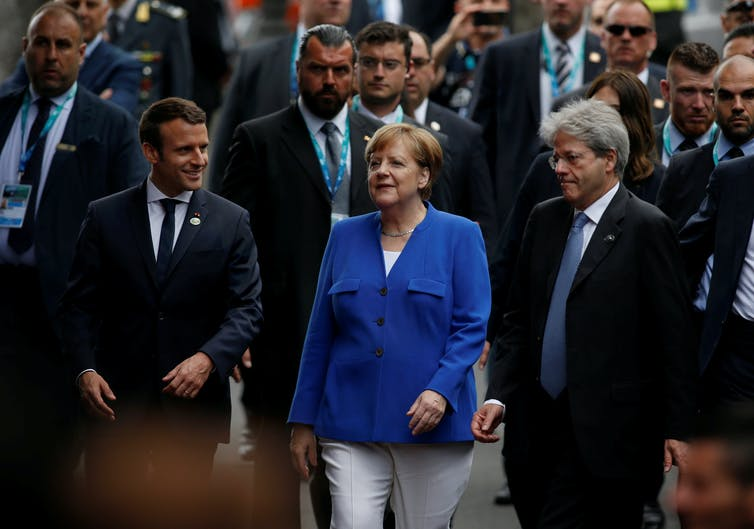 Angela Merkel Hopes to Agree EU-Mexico Free Trade Deal This Year