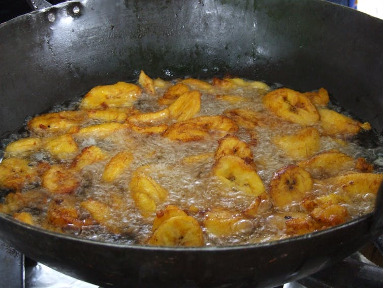 Deep fried plantain