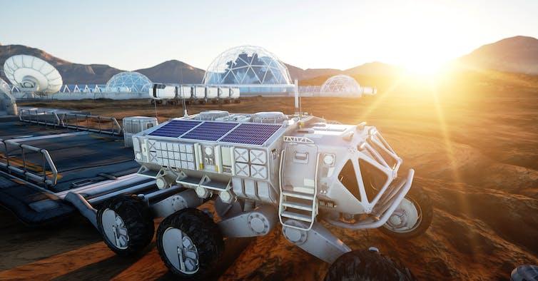 Rumfarm på Mars