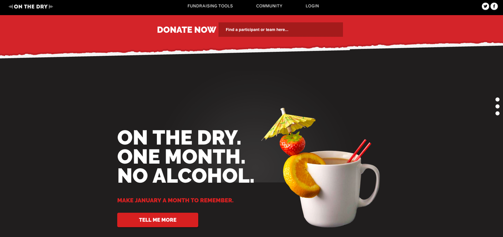 Yes, alcohol awareness campaigns like Dry July can work, but not for
