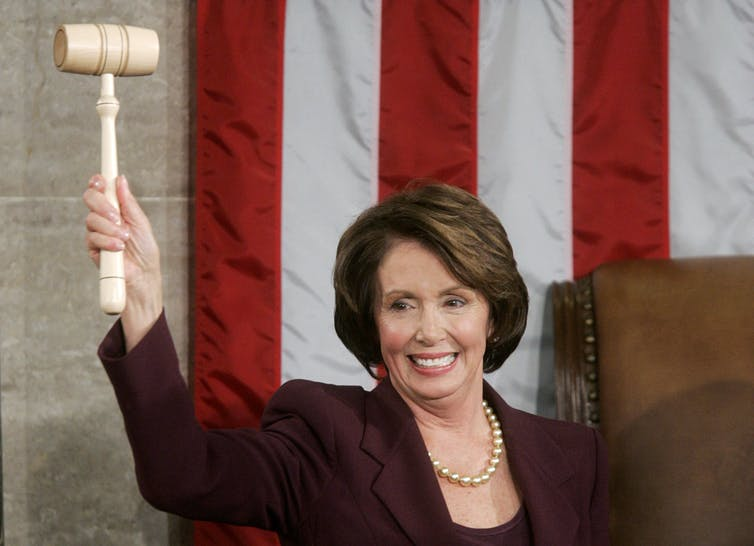 Image result for photos of nancy pelosi as speaker