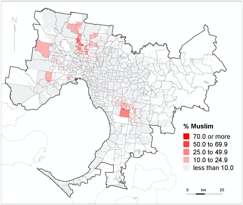 Suburbs 'swamped' by Asians and Muslims? The data show a
