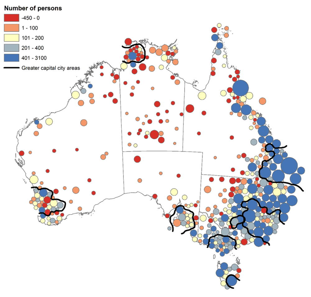 Map Of Australia 2016.Census 2016 What S Changed For Indigenous Australians