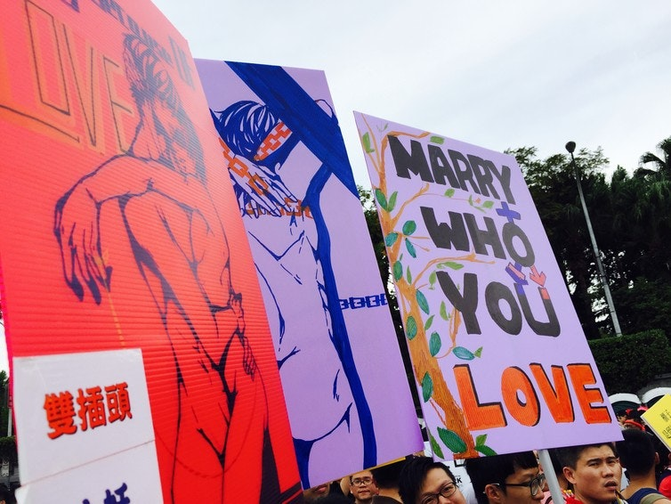 Us states that allow homosexual marriage in china