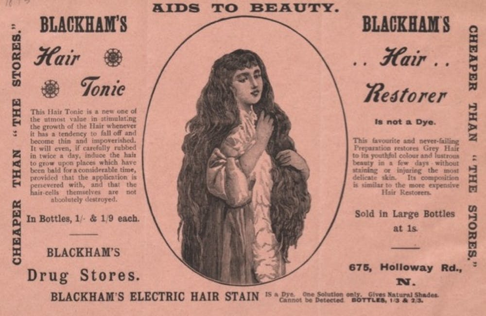 friday essay double standards and derision tracing our  blackhams tonic ad circa 1895