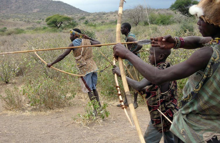 Image of The Hadza people of Tanzania