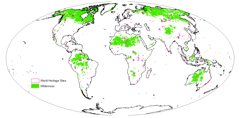 Earths wildernesses are disappearing and not enough of them are very little of the worlds wilderness green is within natural world heritage sites pink author provided gumiabroncs Image collections