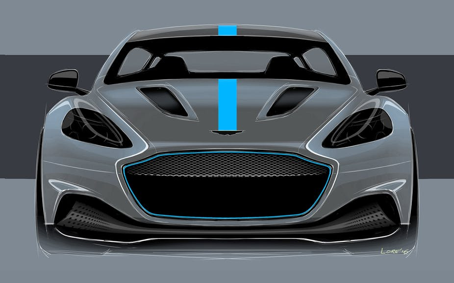 Aston Martin An Unlikely Ambassador For Electric Cars - Aston martin cars com