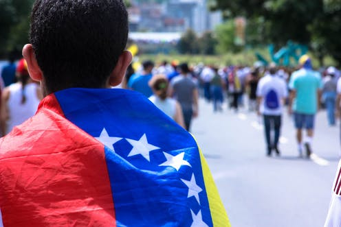 fight or flight for young people in venezuela that is the question