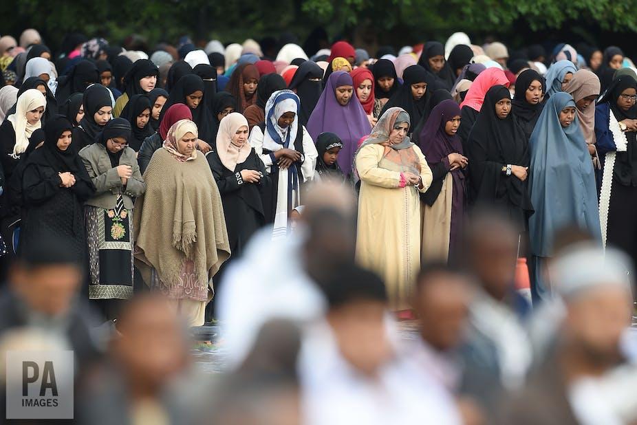 Britain's 'missing' Muslim women