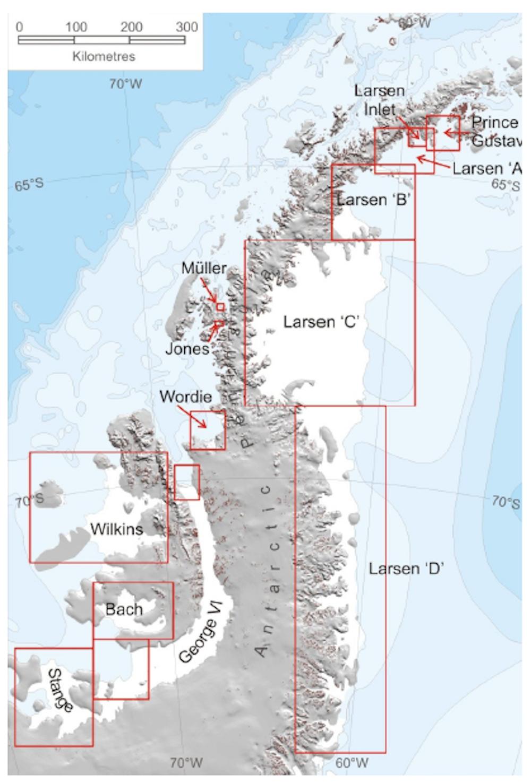 Simple Norway Map