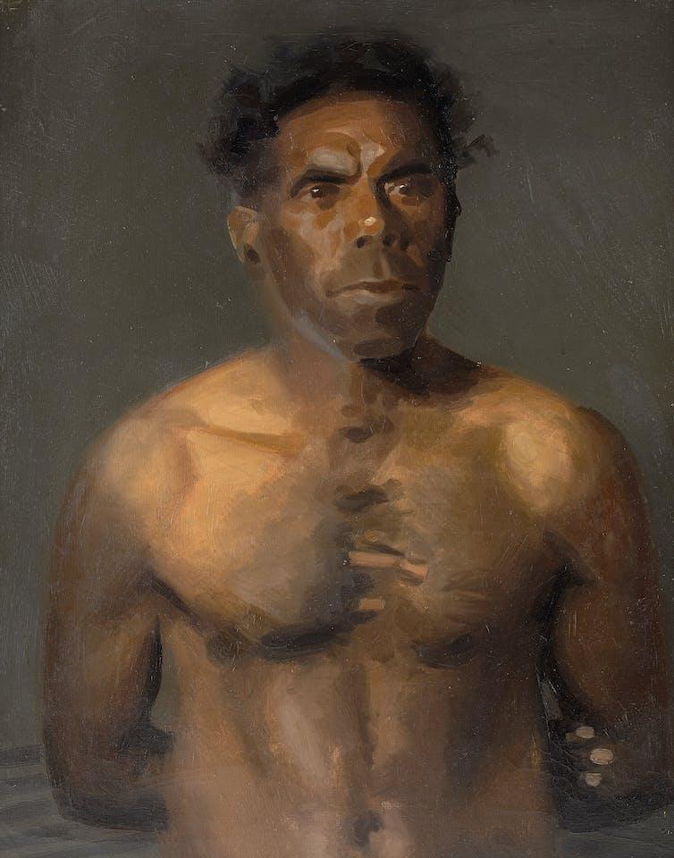 sunday essay : painting 'the last victorian aborigines'