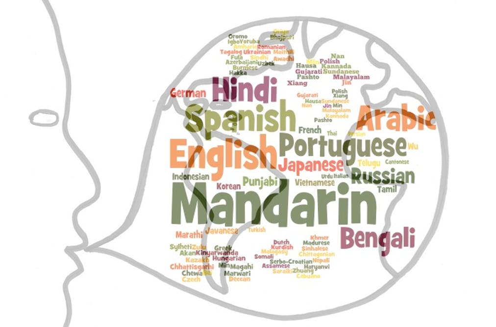 Why are so many languages spoken in some places and so few